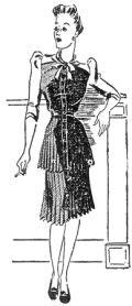 """Modelo publicado na """"Folha da Noite"""", em 8 de abril de 1941"""