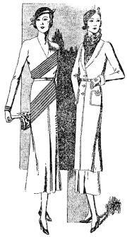 """Modelos de Molyneux, publicados na """"Folha da Manhã"""", em maio de 1933"""