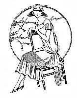 """Croqui publicado na """"Folha da Noite"""", em 7 de maio de 1925"""