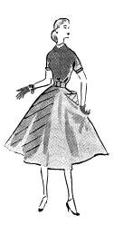 """Modelo publicado na """"Folha da Manhã"""", em 12 de outubro de 1952"""