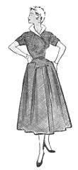 """Modelo publicado na """"Folha da Manhã"""", em 29 de março de 1953"""