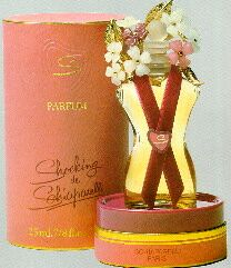 "Frasco do perfume ""Shocking"", de Elsa Schiaparelli"